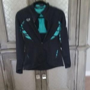 Womens lightweight zip up jacket